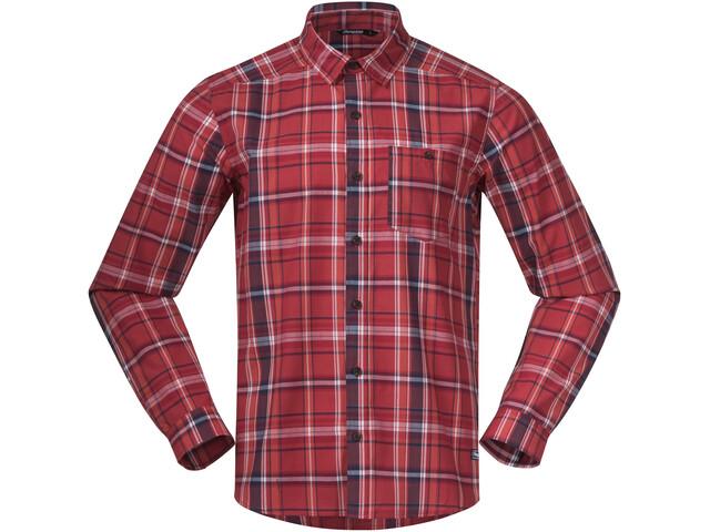Bergans Kikut Shirt Men, red check